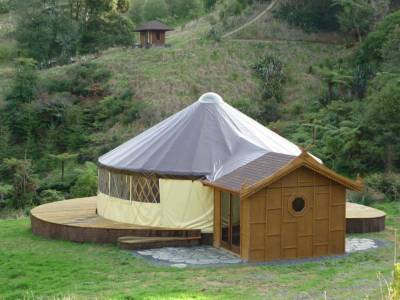 Yurt award winning NZ design