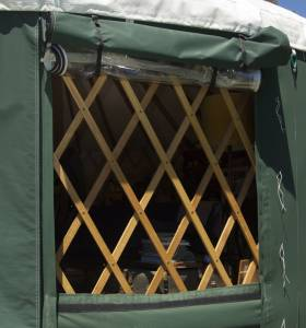 Origin Yurt Window