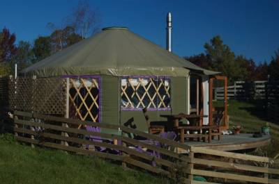 Origin Yurts by Tasman Canvas